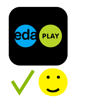 The EDA PLAY app, iOS 11, iOS 12